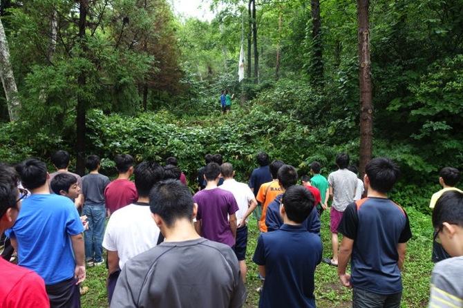 DSC00252 - 本日は日曜日なので午前中は主日礼拝でした|第79回野尻学荘8日目