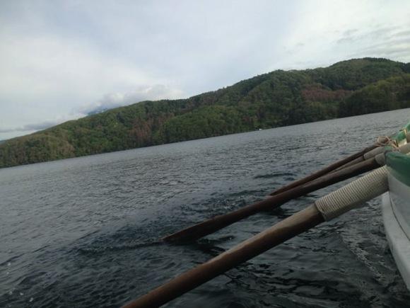 IMG 1314 - 第79回野尻学荘 現地リーダートレーニング!2日目はカッターに乗って、午後は斑尾山へ!