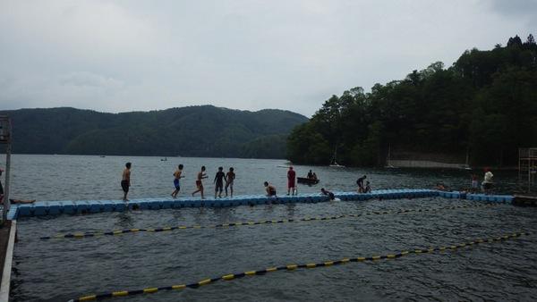 RIMG0188 - 午後は全キャビン水場で遊んでいました!|第79回野尻学荘4日目