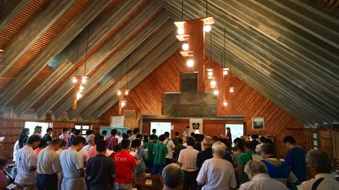 DSC00313 - 本日は日曜日なので午前中は主日礼拝でした|第80回野尻学荘8日目