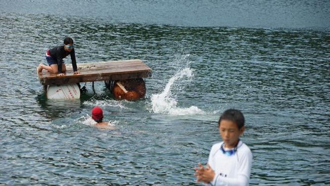 DSC00389 - 午後のフリータイムは水場が大盛況でした|第80回野尻学荘