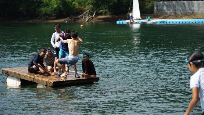 DSC00403 - 午後のフリータイムは水場が大盛況でした|第80回野尻学荘