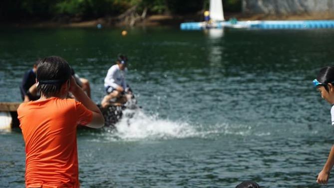 DSC00404 - 午後のフリータイムは水場が大盛況でした|第80回野尻学荘