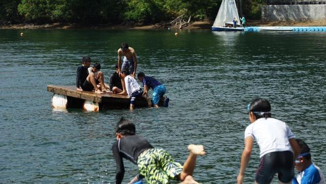 DSC00407 - 午後のフリータイムは水場が大盛況でした|第80回野尻学荘