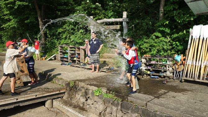 DSC00423 - 午後のフリータイムは水場が大盛況でした|第80回野尻学荘
