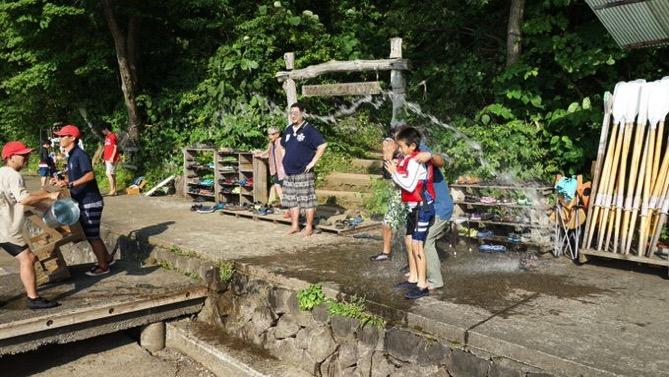 DSC00425 - 午後のフリータイムは水場が大盛況でした|第80回野尻学荘
