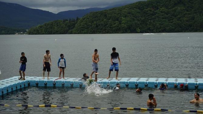 DSC00620 - 午後は雨が上がったので水場がオープンしました|第80回野尻学荘