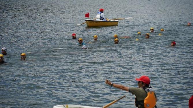 DSC00695 - 遠泳は無事終了しました!|第80回野尻学荘10日目