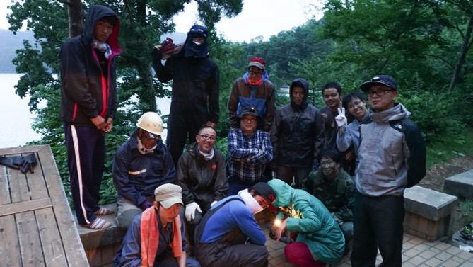 ドスタ最後の夜は「たぬき狩り」が行われました|第80回野尻学荘12日目