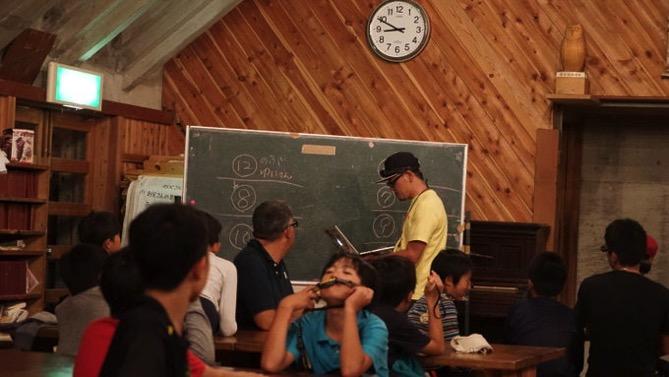 DSC01114 - ドスタ最後の夜は「たぬき狩り」が行われました|第80回野尻学荘12日目
