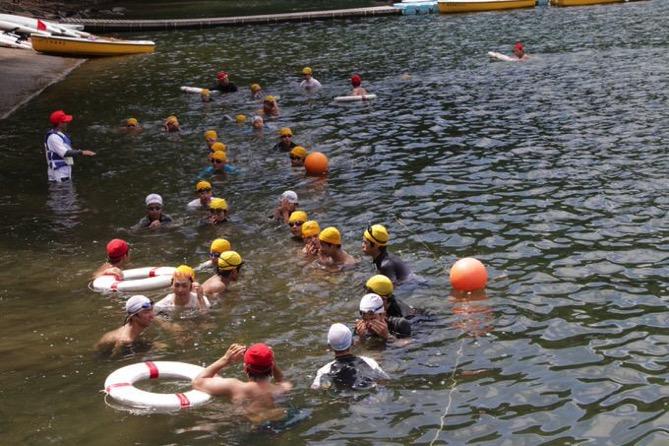 IMG 0856 - 遠泳は無事終了しました!|第80回野尻学荘10日目