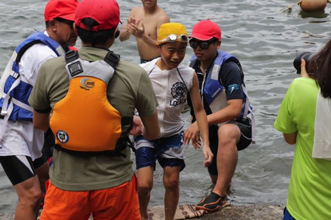 IMG 0873 - 遠泳は無事終了しました!|第80回野尻学荘10日目
