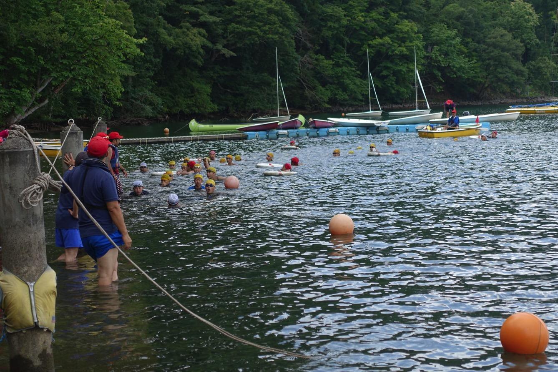 DSC01868 - 遠泳は無事に終了しました!|第81回野尻学荘