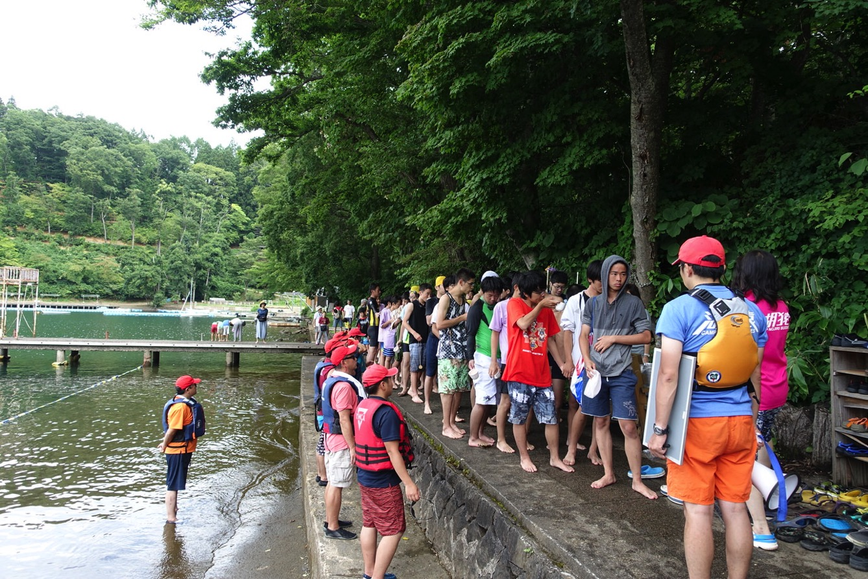 DSC01873 - 遠泳は無事に終了しました!|第81回野尻学荘