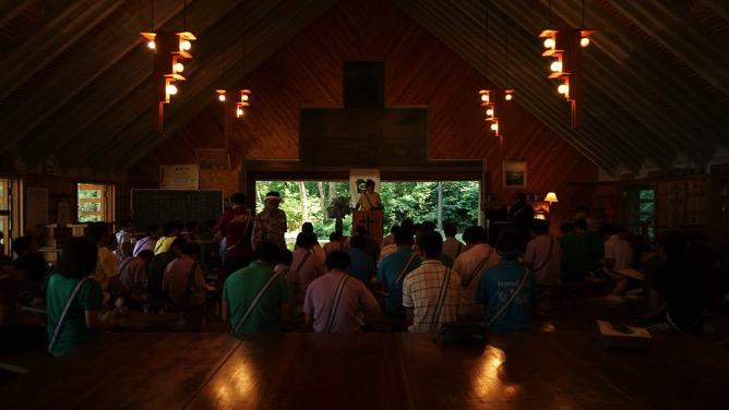 DSC03204 - 本日は野尻学荘で1日過ごせる最後の日、主日礼拝と荘会がありました|第81回野尻学荘