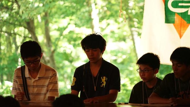 DSC03222 - 本日は野尻学荘で1日過ごせる最後の日、主日礼拝と荘会がありました|第81回野尻学荘