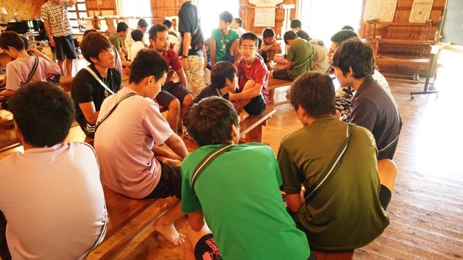 DSC03227 - 本日は野尻学荘で1日過ごせる最後の日、主日礼拝と荘会がありました|第81回野尻学荘