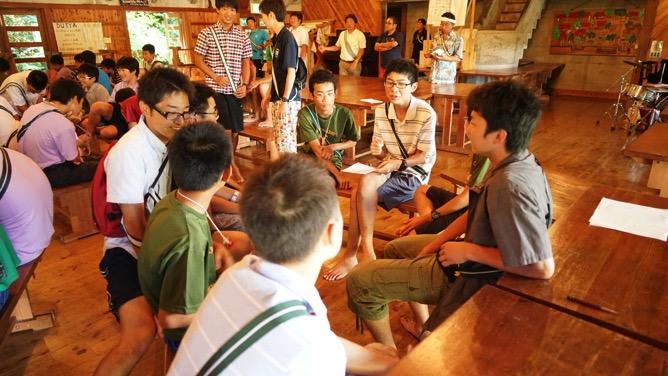 DSC03229 - 本日は野尻学荘で1日過ごせる最後の日、主日礼拝と荘会がありました|第81回野尻学荘
