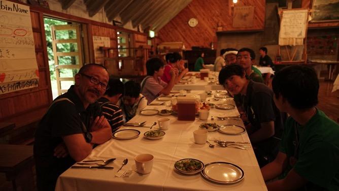 DSC03433 - 最後の実修、晩餐会、閉荘式が開催されました|第81回野尻学荘