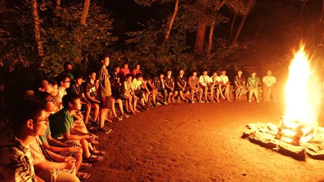 DSC03596 - 最後の実修、晩餐会、閉荘式が開催されました|第81回野尻学荘
