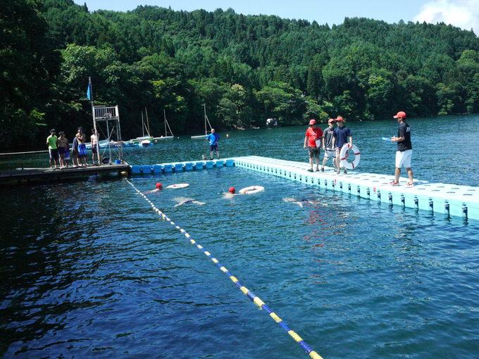 P1190236 - 2日目の午前中は泳力チェックを行いました|第81回野尻学荘