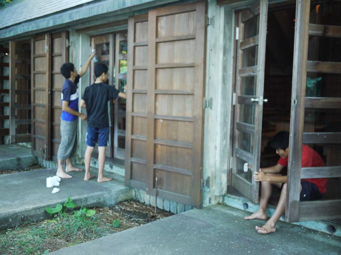 P1190508 - 4日目、午前中は天気も良く過ごせました|第81回野尻学荘