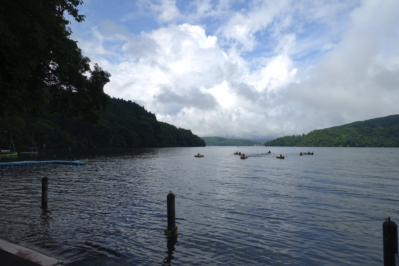 DSC02248 - 遠泳は無事に完了しました。|第82回野尻学荘11日目