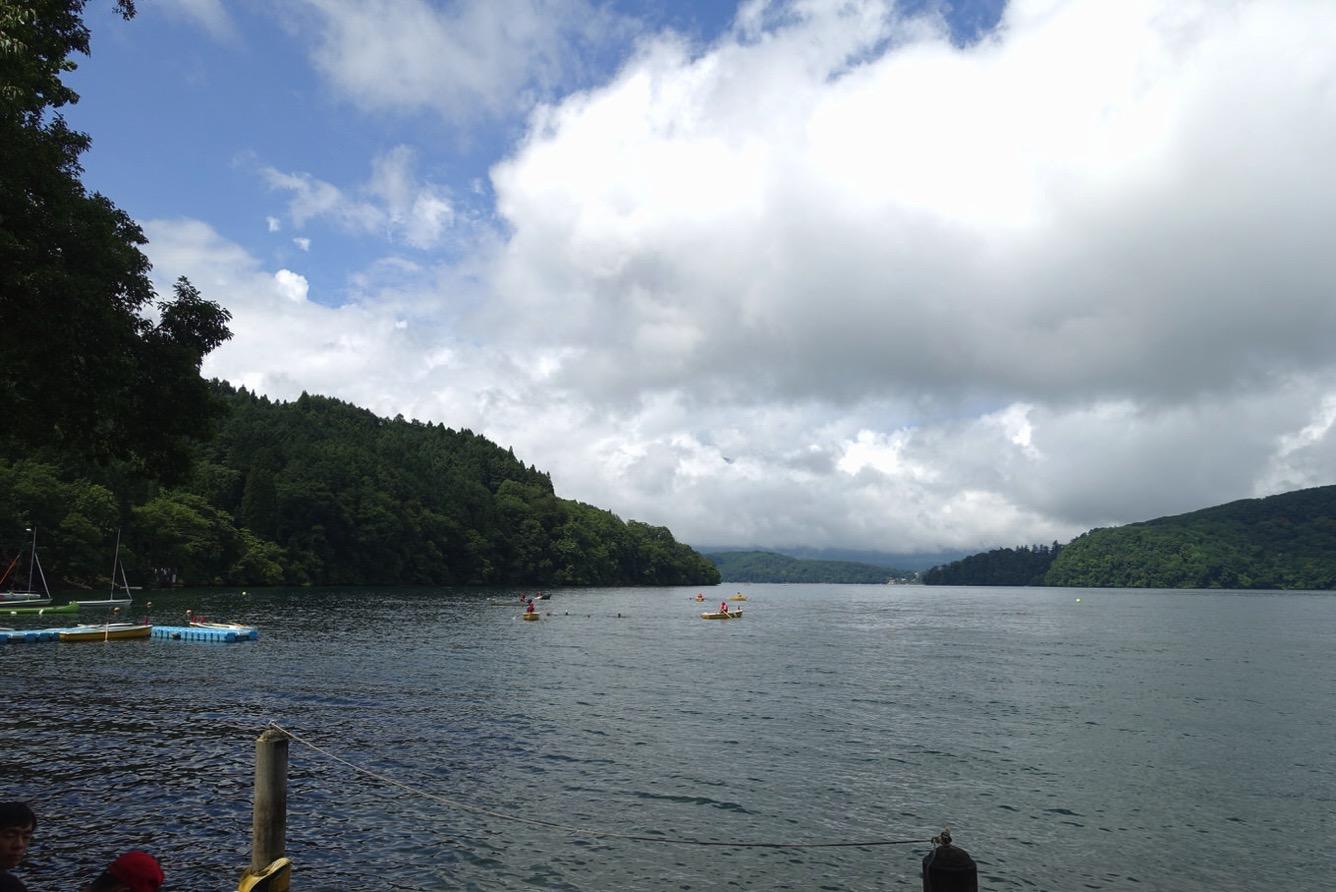 DSC02272 - 遠泳は無事に完了しました。|第82回野尻学荘11日目