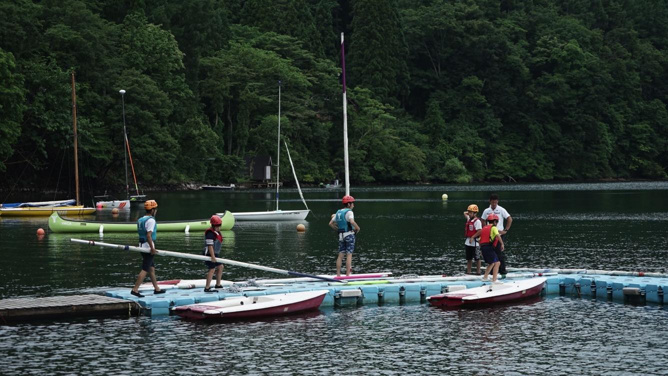 DSC05040 - 野尻湖は雨。実修の時間だけは雨がやみました|第82回野尻学荘10日目
