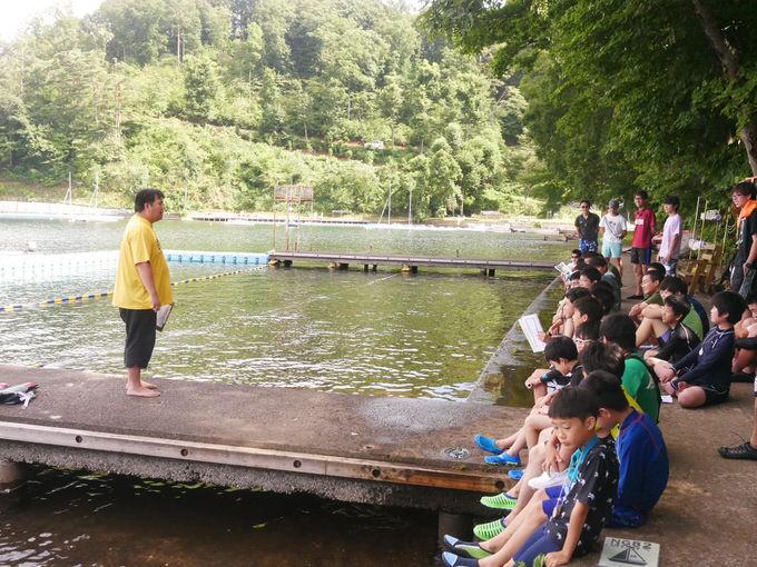 P1010159 - 午前中は泳力チェックを行いました|第82回野尻学荘2日目