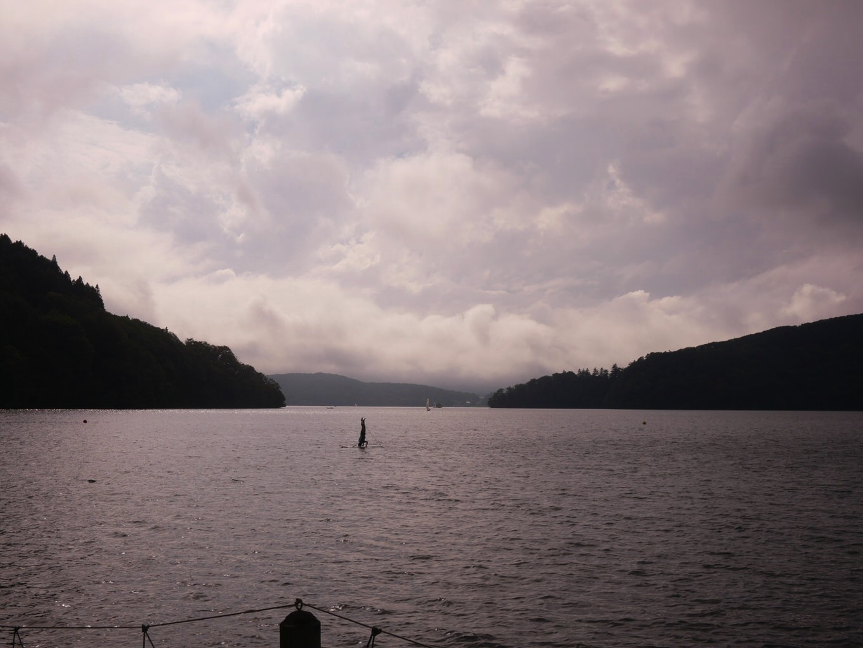 P1010429 - 午後の水場は天気がいいのにガラガラ、ボーイズたちは「桐久保工房」へ|第82回野尻学荘第9日目