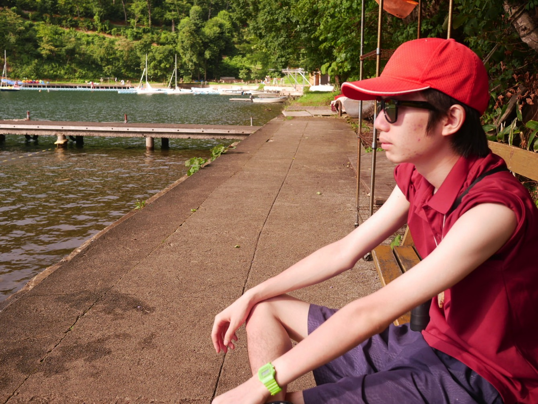 P1010431 - 午後の水場は天気がいいのにガラガラ、ボーイズたちは「桐久保工房」へ|第82回野尻学荘第9日目
