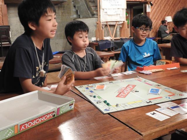 モノポリー - スタンダードプログラム|第84回野尻学荘7日目