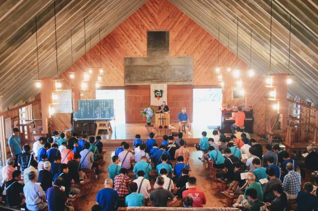 s IMG 4037 - 主日礼拝と荘会を行いました。|第84回野尻学荘10日目